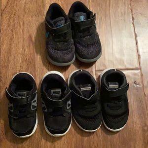 Nike Toddler 7-8 Sneaker Bundle